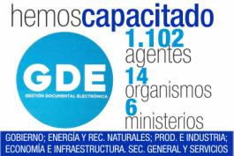 CAPACITANDO A LOS AGENTES PÚBLICOS PROVINCIALES EN GDE. (Gestión Documental Electrónica)