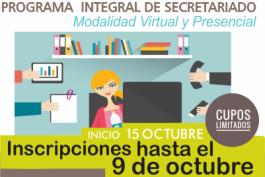 II Edición. Programa Integral de Secretariado 2019/20