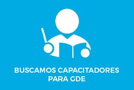 Busqueda Capacitadores/as GDE