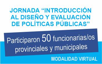 Jornada «Introducción al Diseño y Evaluación de Políticas Públicas. INAP