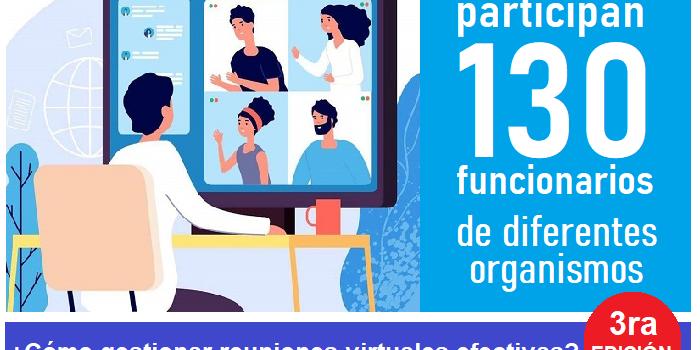 Curso¿Cómo gestionar reuniones virtuales efectivas?