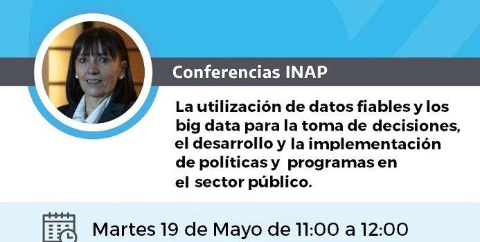 Conferencias INAP – 19 de Mayo de 11 a 12 hs
