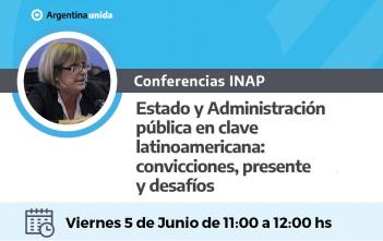 Webnar INAP. Viernes 5 de Junio