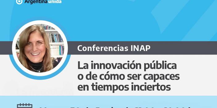 Conferencia INAP. 30 de Junio