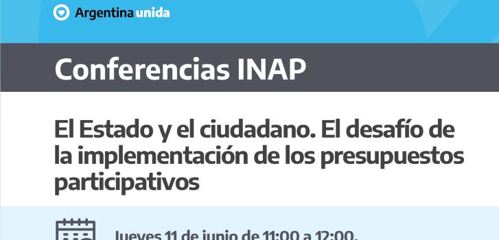 Videoconferencia INAP