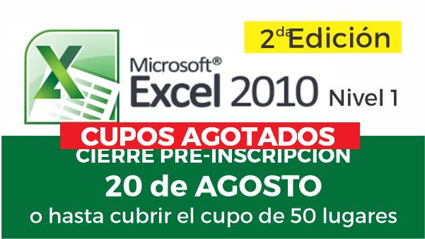 M. Excel. Nivel I – Segunda Edición