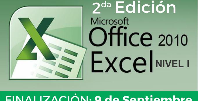 Finalización: Curso Microsoft Excel – Nivel 1 (Segunda Edición)