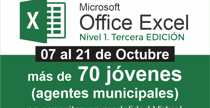 Curso Microsoft Excel – Nivel 1 (tercera Edición). Agentes Municipales