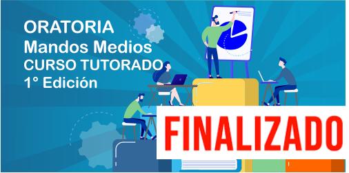 """FINALIZADO. """"Oratoria"""". 1ra Edición"""