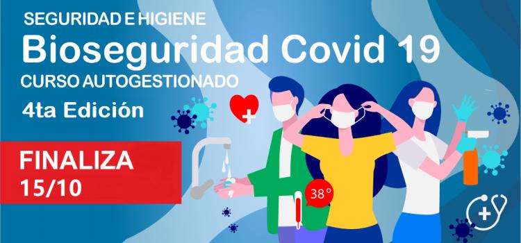 """FINALIZA. Bioseguridad Covid-19 """"4ta Edición"""""""